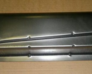 6116410 Rear sections of heater channel pre 7_55