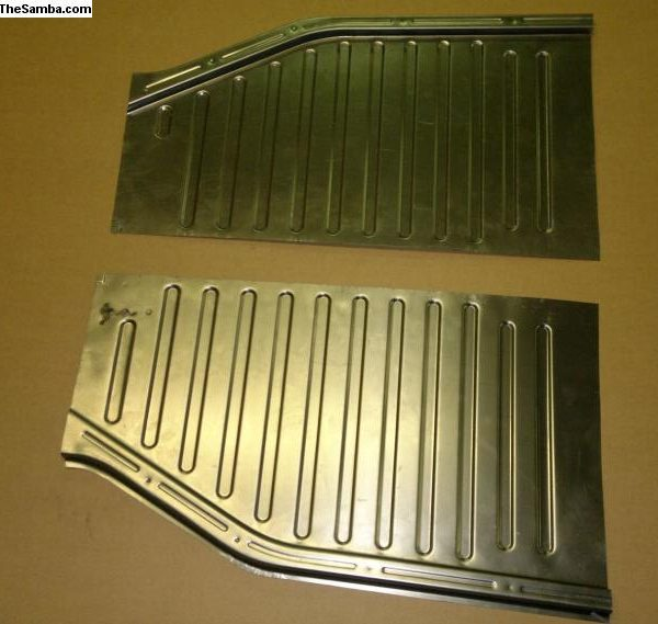 6765558 Front sections for floor pan 1949-57